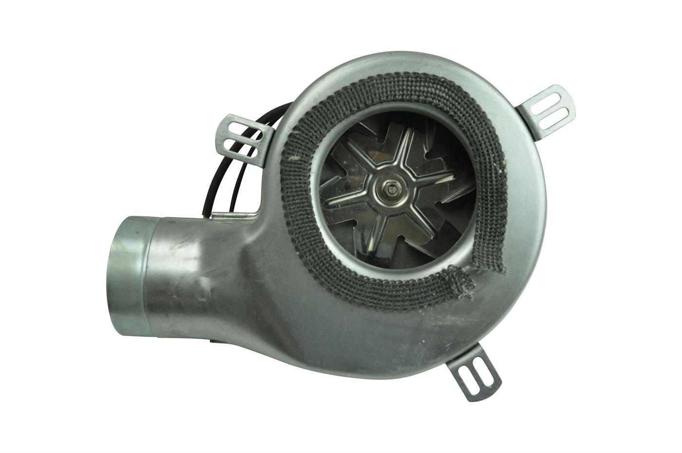 Rookgasventilatoren met bolvormige motor voor Extraflame