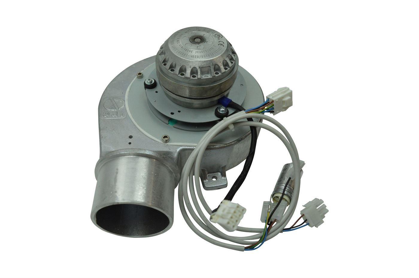 Rookgasventilatoren met bolvormige motor voor Jøtul